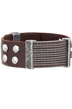seven-24 armband »rebel soul, svrs01-br25« bruin