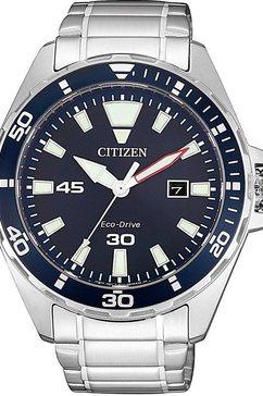 citizen solar-horloge »bm7450-81l« zilver