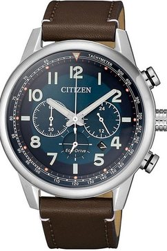 citizen chronograaf »ca4420-13l« bruin