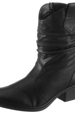 rieker cowboylaarsjes zwart