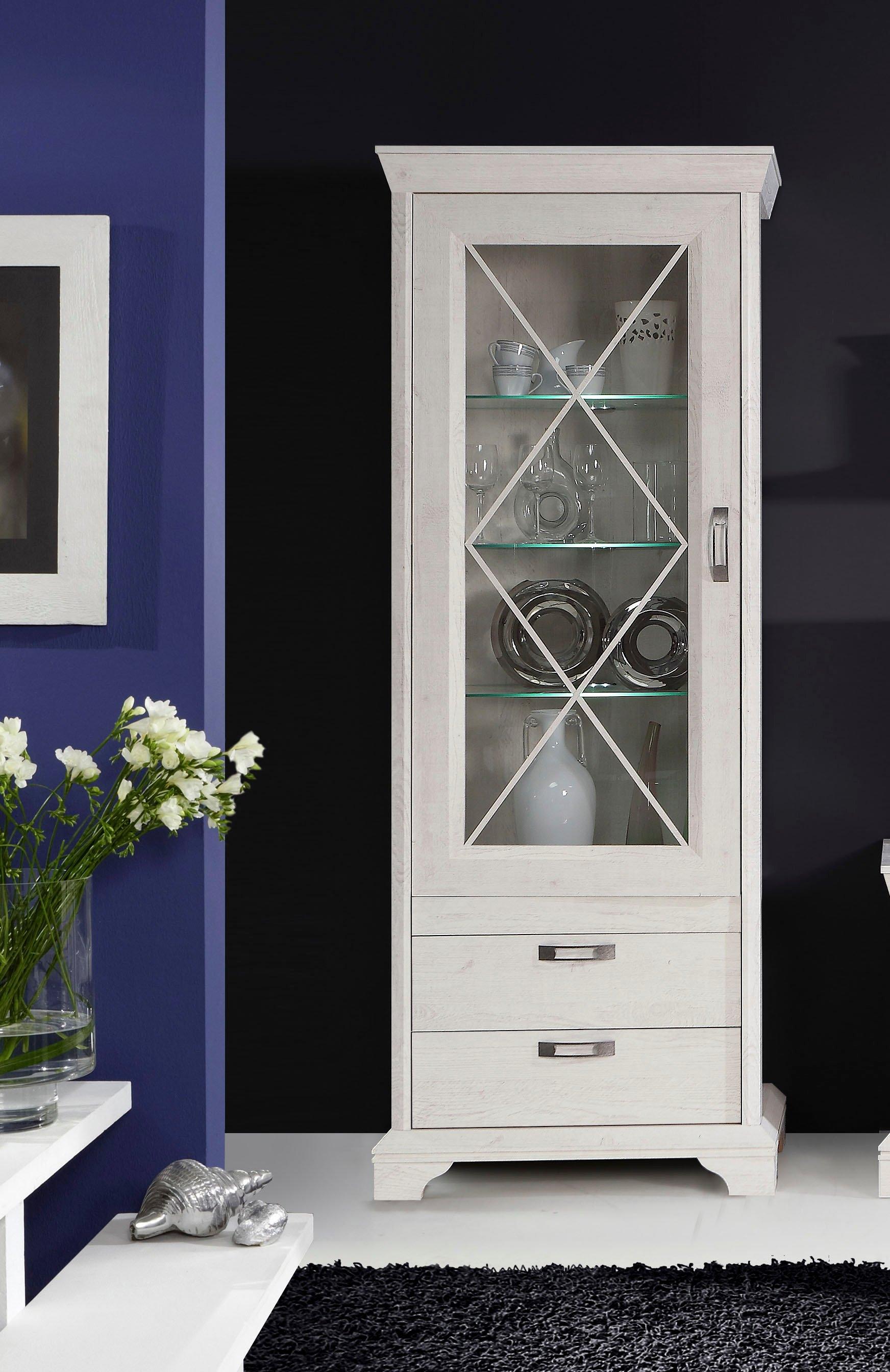 FORTE vitrinekast Breedte 78 cm, inclusief ledverlichting nu online kopen bij OTTO