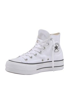 converse plateausneakers »ctas lift hi« wit