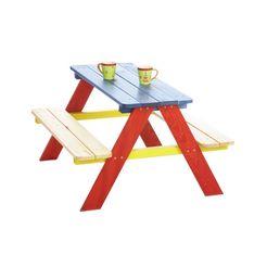 pinolino kinder-picknickbank nicki multicolour multicolor