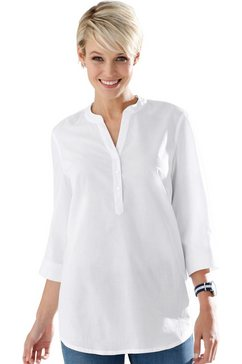 classic basics blouse zonder sluiting wit