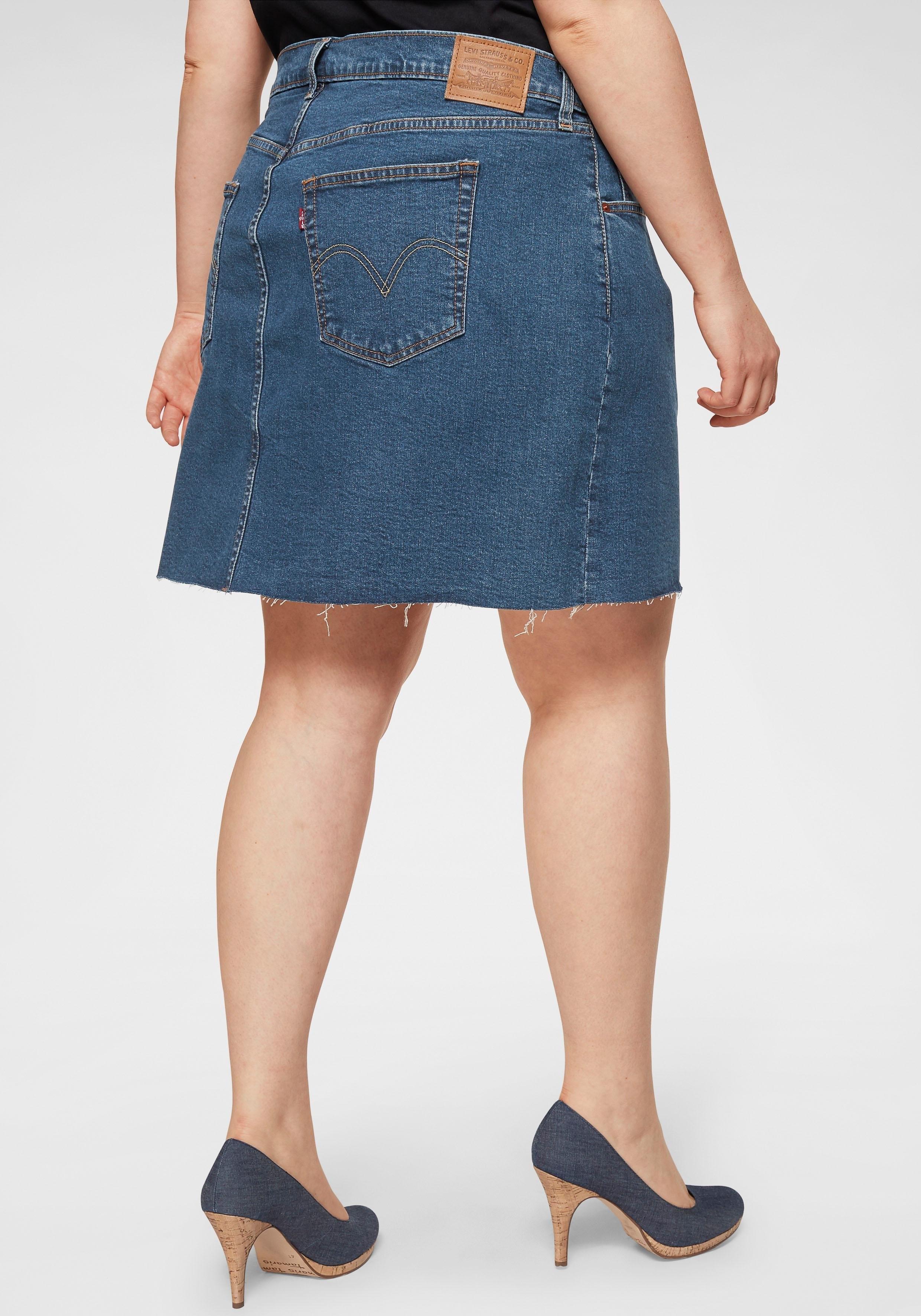 LEVI'S ® Plus jeansrok »Plus Size Deconstructed Skirt« bij OTTO online kopen