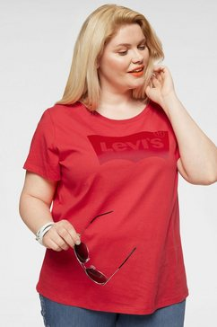 levi's plus t-shirt »batwing« rood
