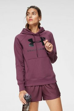 under armour hoodie »rival fleece ss graphic hoodie« paars
