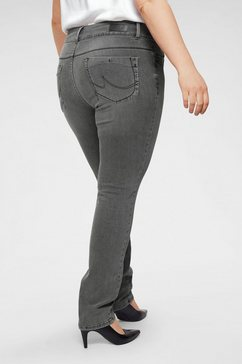 love to be by ltb slim fit jeans »vivien« grijs