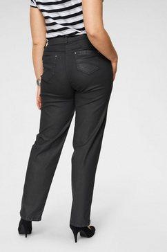 kjbrand straight jeans »babsie« zwart