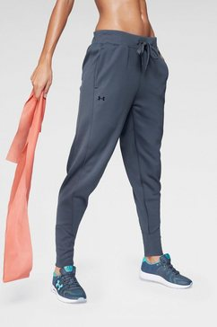 under armour trainingsbroek »synthetic fleece jogger pant« grijs