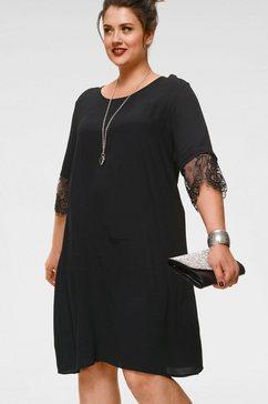 zizzi kanten jurk zwart