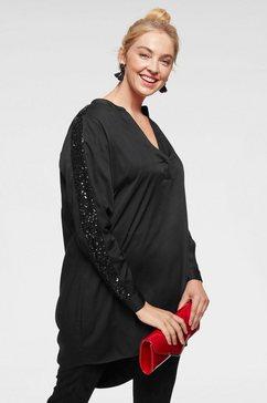 junarose blouse zonder sluiting zwart