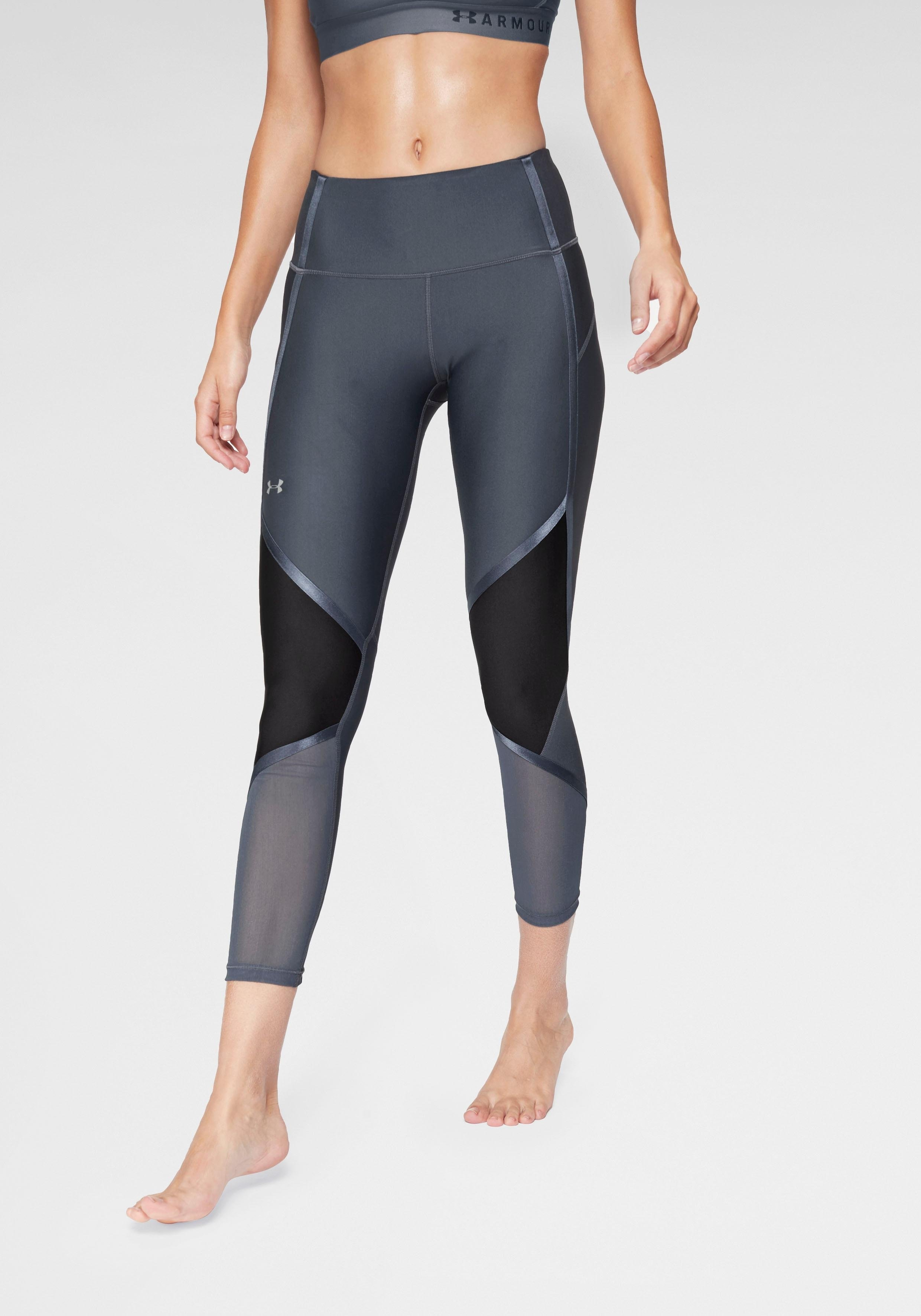 Under Armour® functionele tights »HG ARMOUR SHINE ANKLE CROP« - gratis ruilen op otto.nl