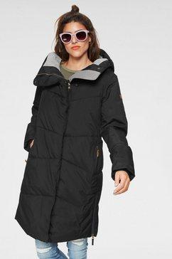 roxy gewatteerde jas »abbie« zwart