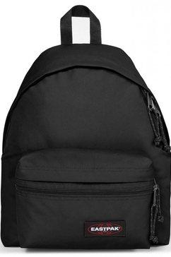 eastpak rugzak »padded zippl'r, black« zwart