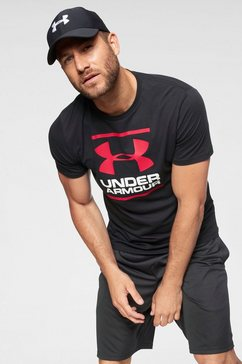 under armour t-shirt »ua gl foundation ss t« zwart