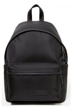 eastpak rugzak »padded pak'r, constructed black« zwart