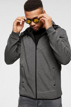 ocean sportswear capuchonsweatvest grijs