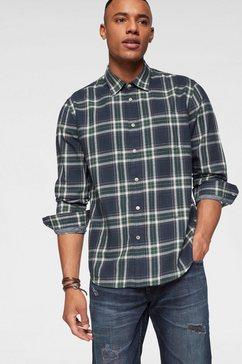 pepe jeans geruit overhemd »maxwell« blauw