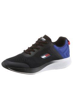 tommy sport sneakers ts pro racer 1 in een sportief design zwart