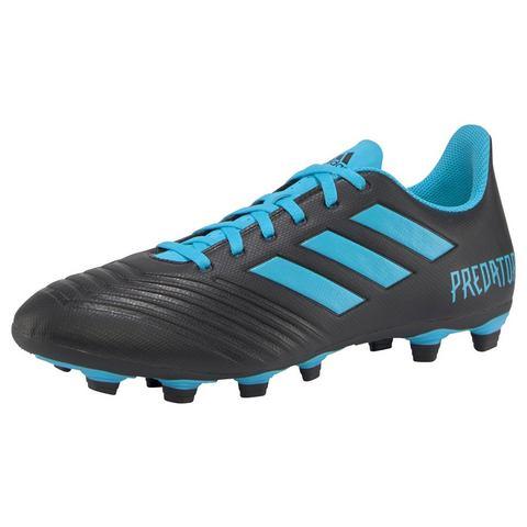 adidas performance Predator 19.4 FxG voetbalschoenen zwart-lichtblauw