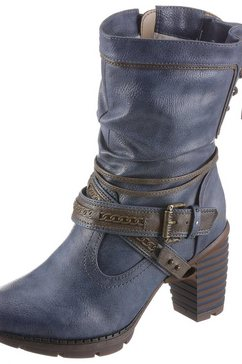 mustang shoes winterlaarzen blauw