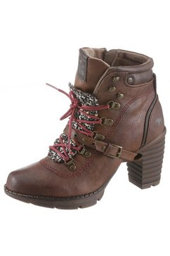 mustang shoes veterlaarsjes bruin