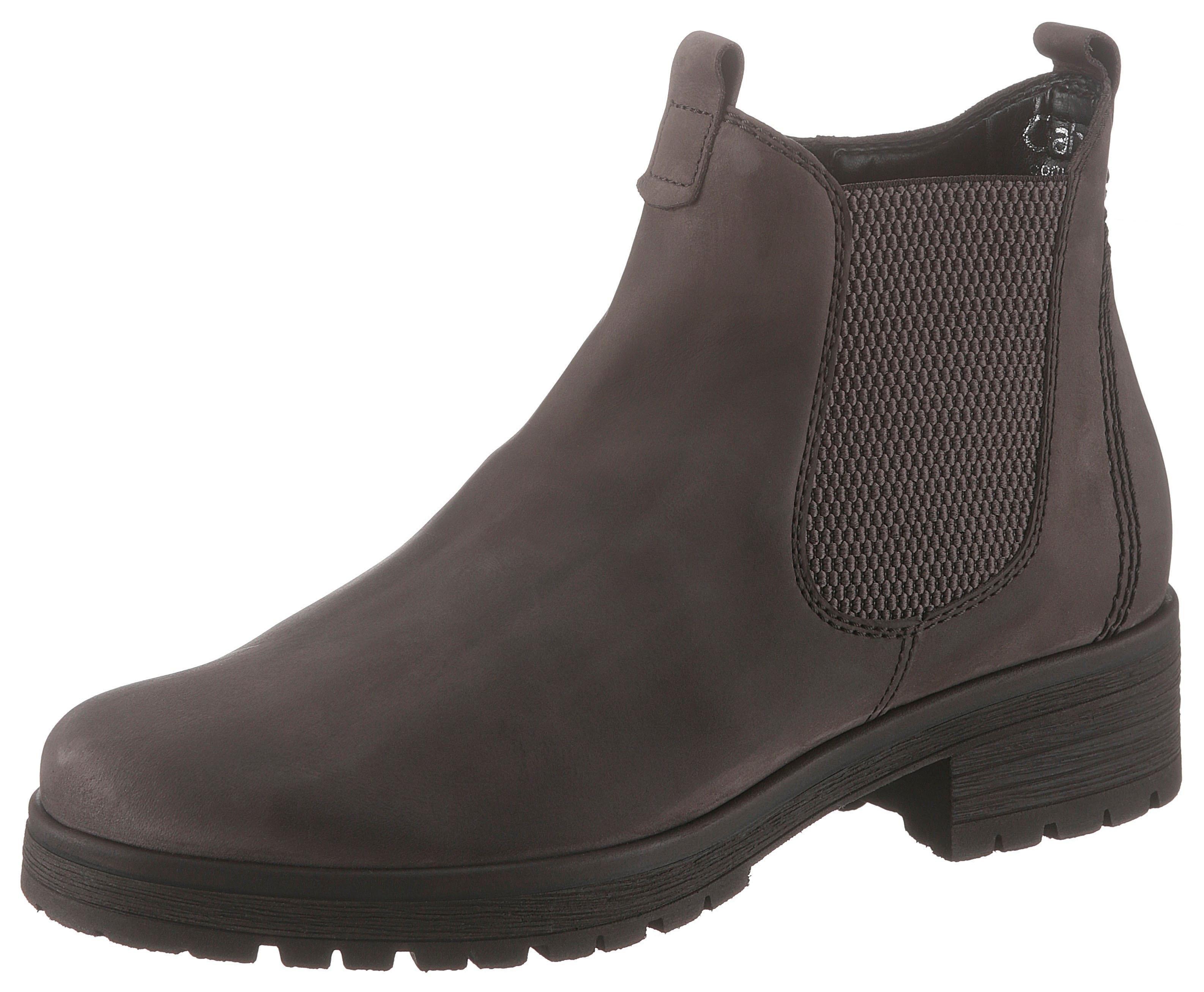 Gabor Chelsea-boots met klassiek sierstiksel voordelig en veilig online kopen