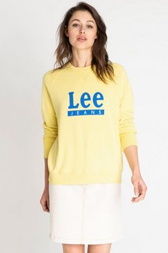 lee sweatshirt geel