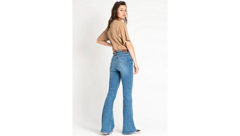 Lee® wijd uitlopende jeans Mode-revival van de jaren 90