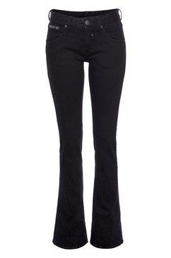 herrlicher bootcut jeans »tosh flare« zwart
