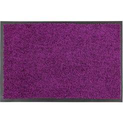 mat, »proper tex 618«, astra, rechthoekig, hoogte 9 mm, machinaal getuft rood