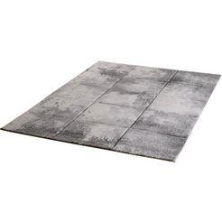 vloerkleed, »lorena 2902«, sanat teppiche, rechthoekig, hoogte 13 mm, machinaal geweven grijs