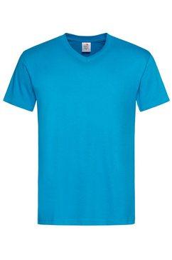 stedman kurzarmshirt blauw