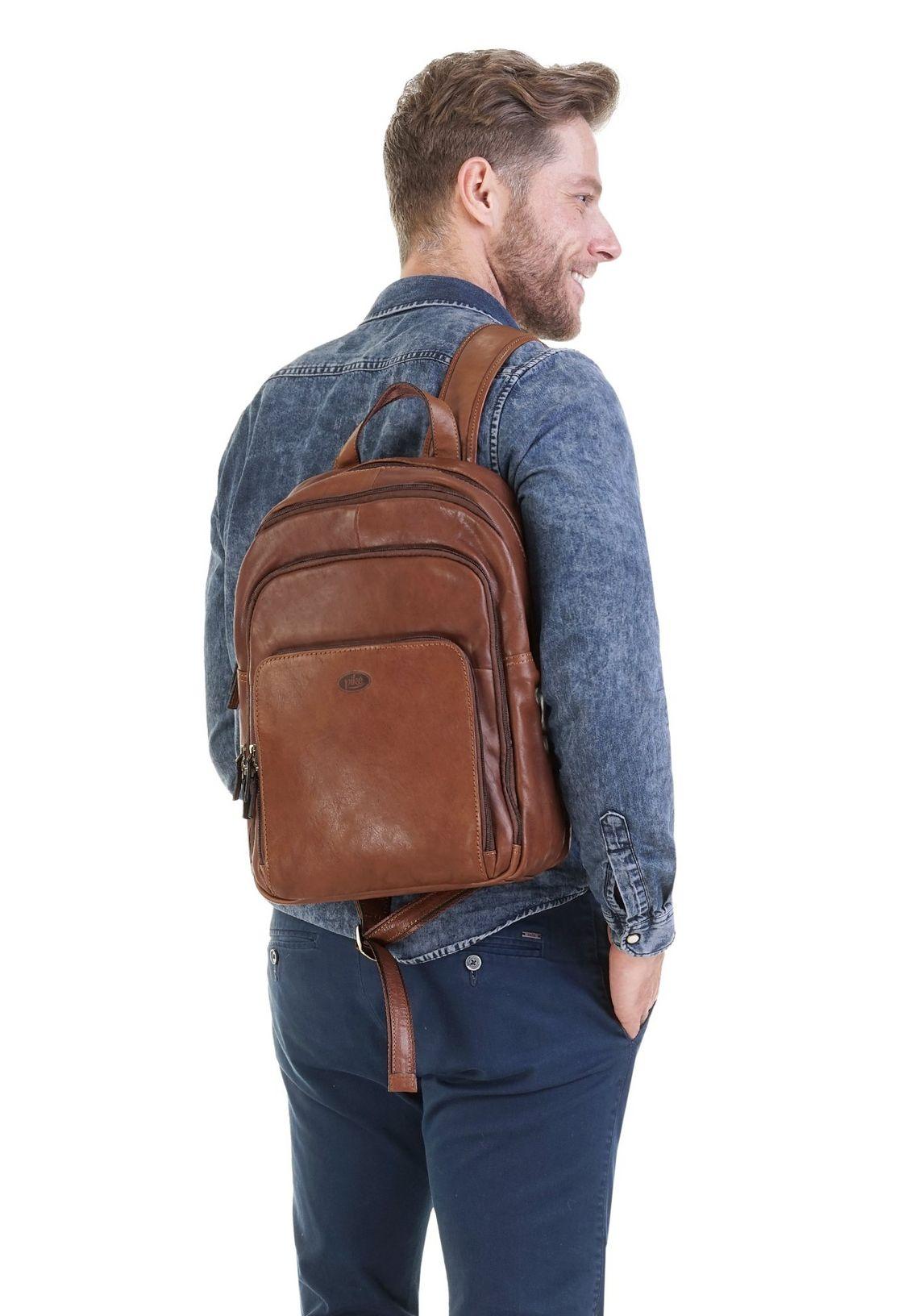 Piké laptop-rugzak in de online shop  bruin