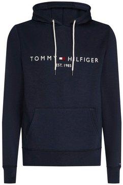 tommy hilfiger hoodie »tommy logo hoody« blauw
