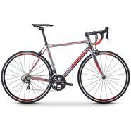 fuji bikes racefiets »roubaix 1.3«, shimano 105-schakelsysteem, 22 versnellingen, derailleur zilver