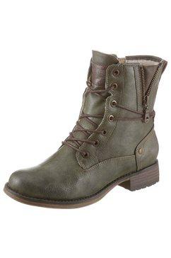 mustang shoes winterlaarzen groen
