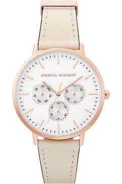 rebecca minkoff multifunctioneel horloge »major, 2200337« wit