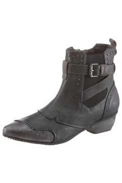 mustang shoes chelsea-boots grijs