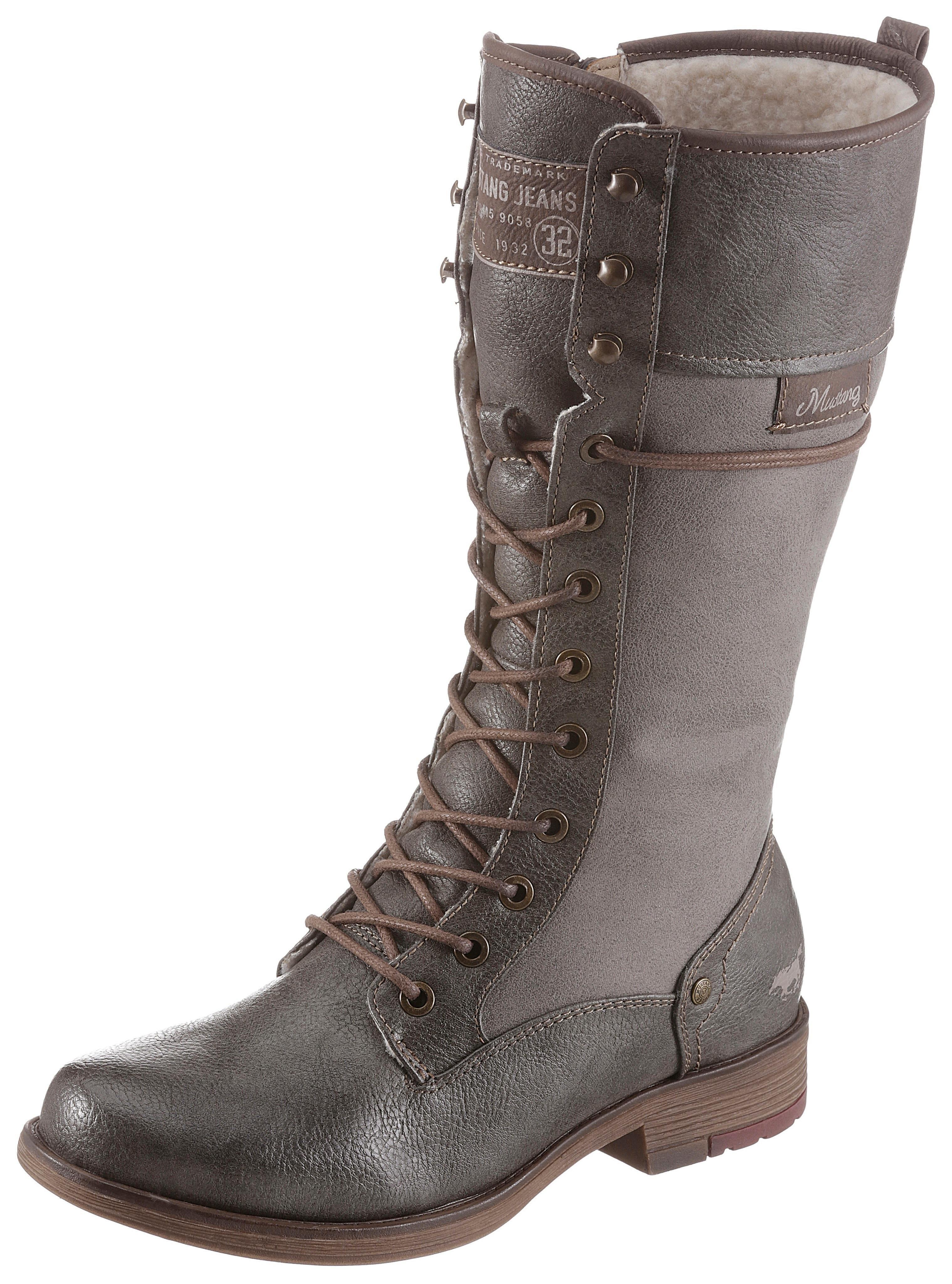 Mustang Shoes winterlaarzen in de webshop van OTTO kopen