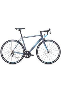 fuji bikes racefiets »roubaix 1.5«, shimano tiagra, 20 versnellingen, derailleur zilver