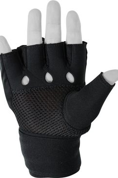 adidas performance punch-handschoenen »speed quick wrap glove« zwart