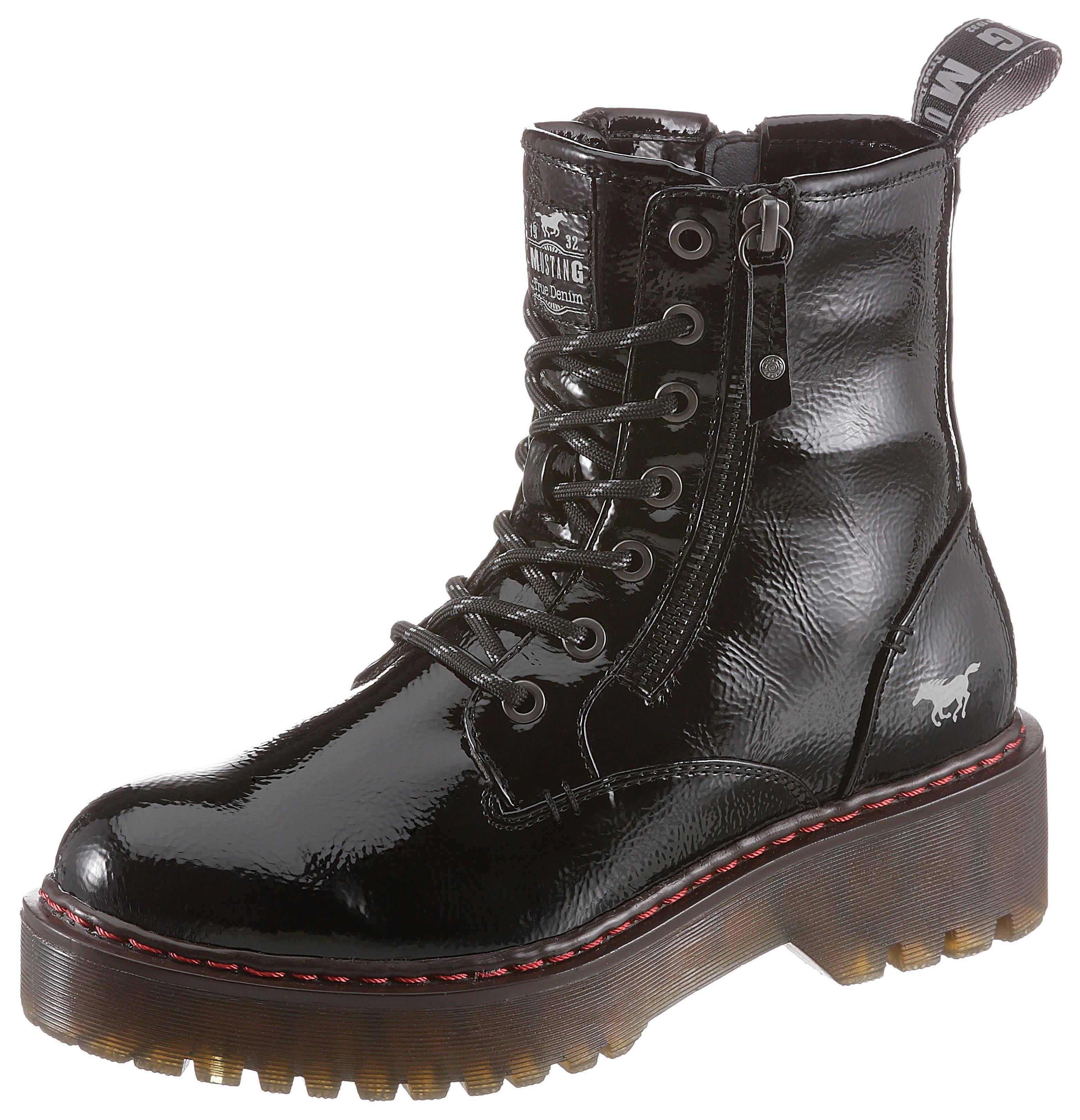 Mustang Shoes hoge veterschoenen online kopen op otto.nl