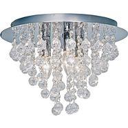 nino leuchten plafondlamp »london«, zilver