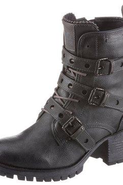 mustang shoes winterlaarsjes grijs