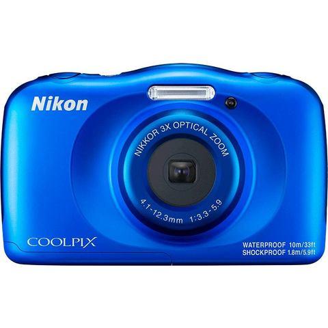Nikon Coolpix W150 compact camera Blauw