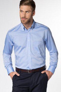 eterna lange arm hemd »modern fit« blauw