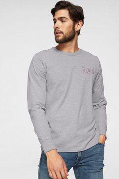 lee shirt met lange mouwen grijs