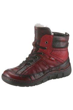 kacper hoge winterschoenen rood